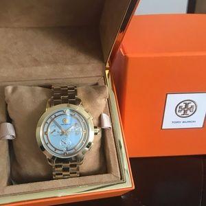 Brand New Tory Burch Chronograph Watch